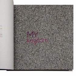 Adawall Anka 16,50 m2 - Dokulu Yerli Duvar Kağıdı Mantar Siyah Anka 1600-4