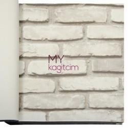 Duka İnception 16,5 m2 - 3d Taş Desen Bej Duvar Kağıdı İnception Brick 71148-4