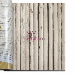 Decowall Armada Bossini 10m2 - Bej Bambu Vinil Duvar Kağıdı Bossini 2203-03