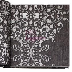 BB Ainos 16,5 m2 - Büyük Damask Kahve Vinil Duvar Kağıdı Ainos 6538-3