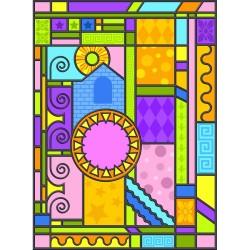 Cam Vitray Özel Tasarım - Cam Vitray Folyo 5934588