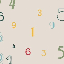 Mykagitcim Kids 5 m2 - Duvar Kağıdı Alfabe-05