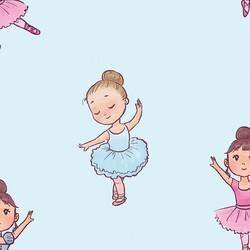 Mykagitcim Kids 5 m2 - Duvar Kağıdı Balerin-02