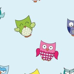 Mykagitcim Kids 5 m2 - Duvar Kağıdı Baykuş-02