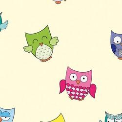 Mykagitcim Kids 5 m2 - Duvar Kağıdı Baykuş-04