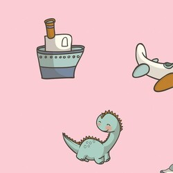 Mykagitcim Kids 5 m2 - Duvar Kağıdı Dino 02-02
