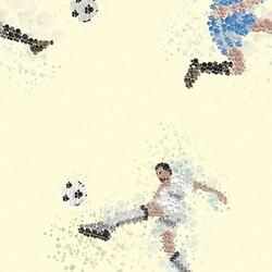 Mykagitcim Kids 5 m2 - Duvar Kağıdı Futbol-03