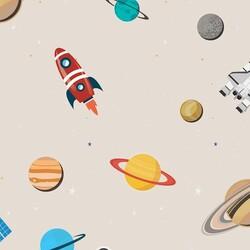 Mykagitcim Kids 5 m2 - Duvar Kağıdı Gezegenler-05
