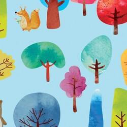 Mykagitcim Kids 5 m2 - Duvar Kağıdı Orman Hayvanları-01