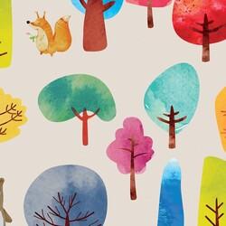 Mykagitcim Kids 5 m2 - Duvar Kağıdı Orman Hayvanları-05