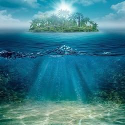 Deniz Altı - duvar posteri denizaltı 123866533