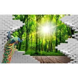 3D Tasarım - duvar posteri 3d tasarım B0023