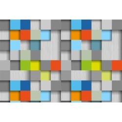 3D Tasarım - duvar posteri 3d tasarım N-956