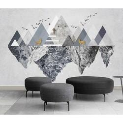 3D Tasarım - duvar posteri 3d tasarim TM-663