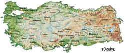 Harita - duvar posteri harita 45292278