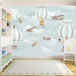 Çocuk Odası Özel Ölçü - duvar posteri çocuk Duvar Posteri C4-003