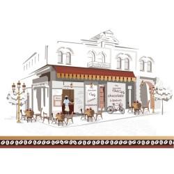 Cafe - duvar posteri cafe A702-001