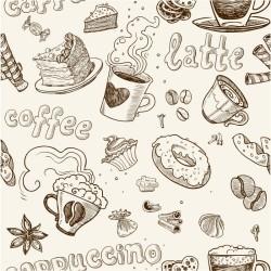 Cafe - duvar posteri cafe A702-005