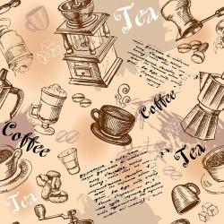 Cafe - duvar posteri cafe A702-006