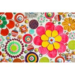 Çiçek - duvar posteri çiçek A103-011