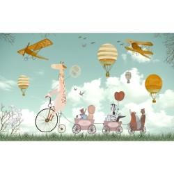 Çocuk Odası Özel Ölçü - duvar posteri çocuk C3-12-02