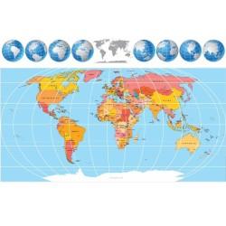 Harita - duvar posteri harita 22009221
