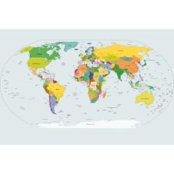 Harita - duvar posteri harita A500-002