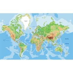 Harita - duvar posteri harita A500-008
