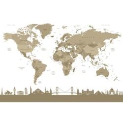 Harita - duvar posteri harita A500-011