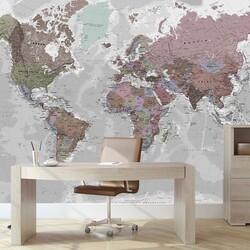 Harita - duvar posteri harita A500 017 S pstr