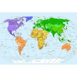 Harita - duvar posteri harita G 5630