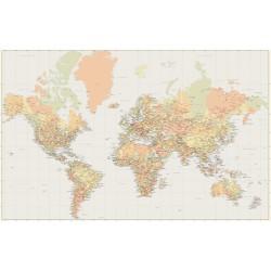Harita - duvar posteri harita N-1227