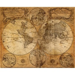 Harita - duvar posteri harita N-940
