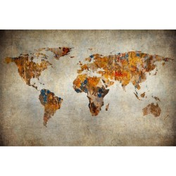 Harita - duvar posteri harita N-942