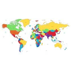 Harita - duvar posteri harita N135