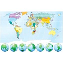 Harita - duvar posteri harita n295