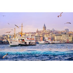 İstanbul - duvar posteri istanbul N-1230