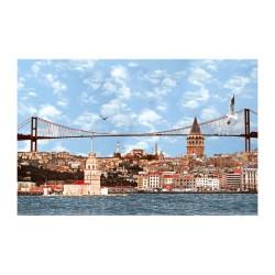 İstanbul - duvar posteri istanbul N551