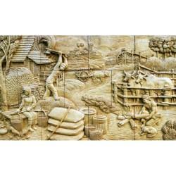 Kabartma - duvar posteri kabartma N-1208