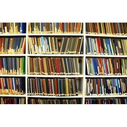 Kitaplık - duvar posteri kitaplık 66675244