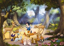 Komar Disney - duvar posteri komar 4parca 4-405