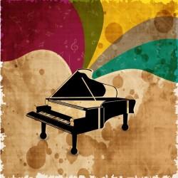 Müzik Dans - duvar posteri müzik dans A209-004