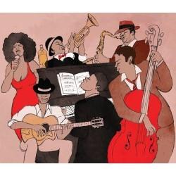 Müzik Dans - duvar posteri müzik dans 76274383