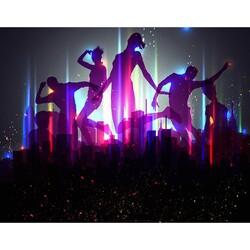 Müzik Dans - duvar posteri müzik dans 924