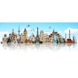 Turizm - duvar posteri turizm A501-004