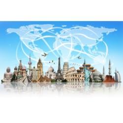 Turizm - duvar posteri turizm A501-005