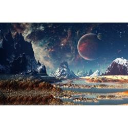 Uzay - duvar posteri uzay A106-900