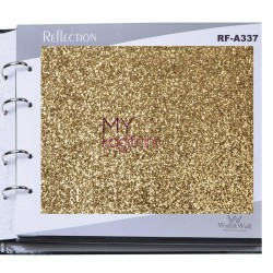 Wall&Wall Reflection 8,1 m2 - Glitter Simli Duvar Kağıdı RF-A337