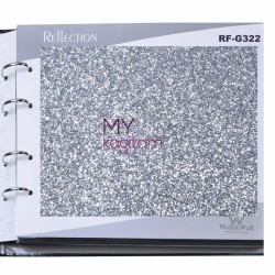 Reflection Simli 8,1 m2 - Glitter Simli Duvar Kağıdı RF-G322