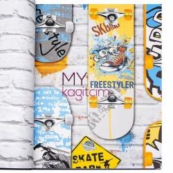 Ugepa Freestyle - İthal Duvar Kağıdı Freestyle L29505